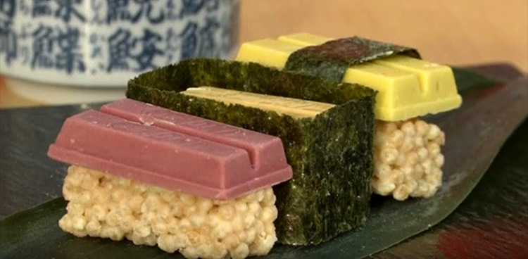 Sushi chocolate by kitkat