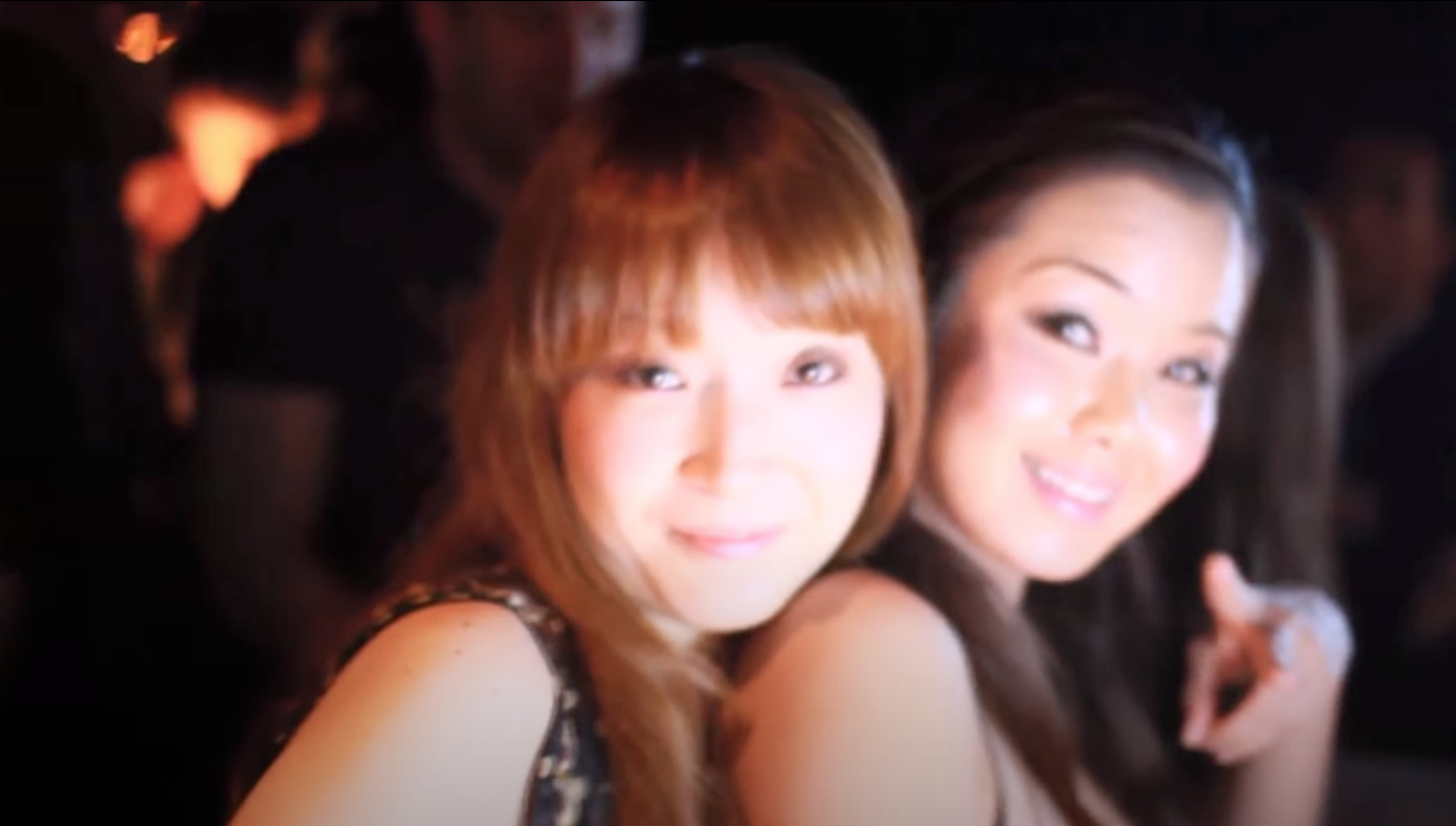 Japanese girls night club in Japan