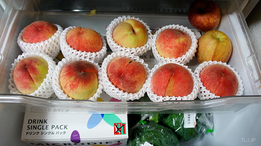 peach in Japan