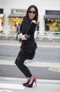 Tokyo fashion lady