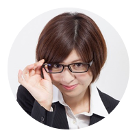 Japanese teacher with glasses